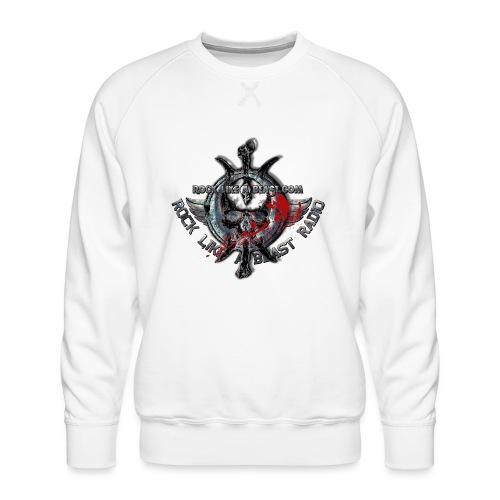 Blood Skull Logo - Premiumtröja herr