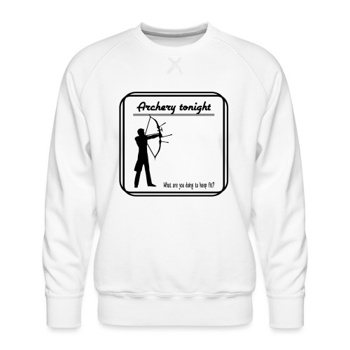 Archery tonight - Miesten premium-collegepaita