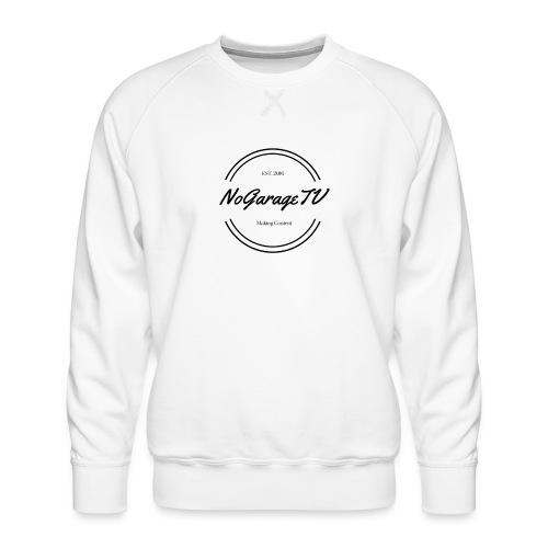 NoGarageTV (3) - Herre premium sweatshirt