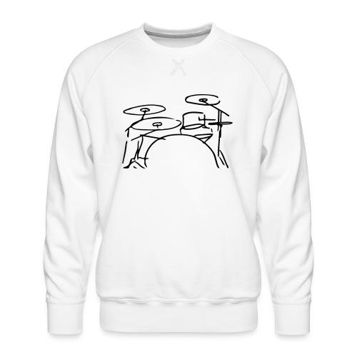 Drumset - Männer Premium Pullover