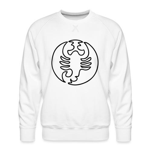 Sternzeichen Skorpion - Männer Premium Pullover