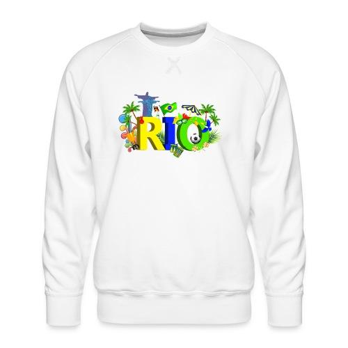 Rio de Janeiro Summer - Men's Premium Sweatshirt