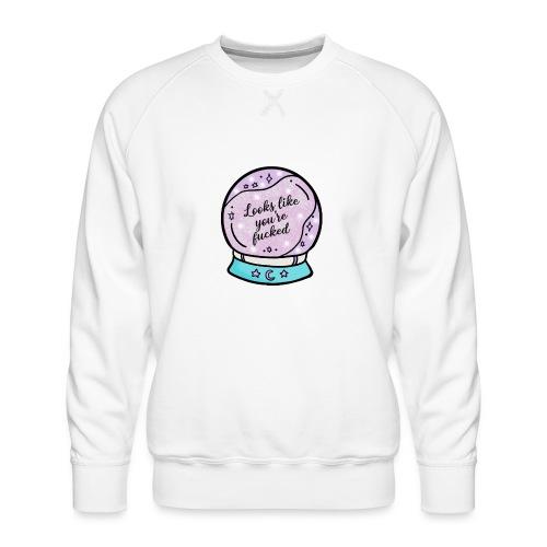 2020 Worst Year Ever Psychic - Men's Premium Sweatshirt