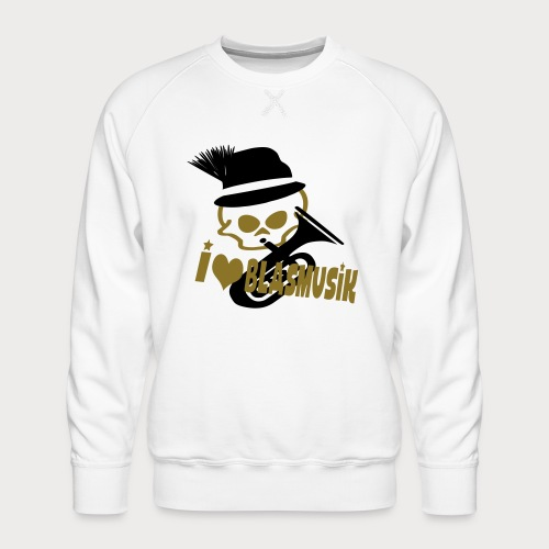 i love blasmusik - Männer Premium Pullover