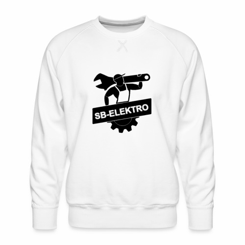 SB transp 1000 png - Herre premium sweatshirt