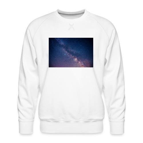 Milchstraße - Männer Premium Pullover