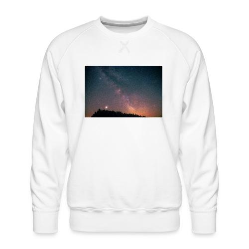 Milchstraße Fotografie Galaktisches Zentrum - Männer Premium Pullover
