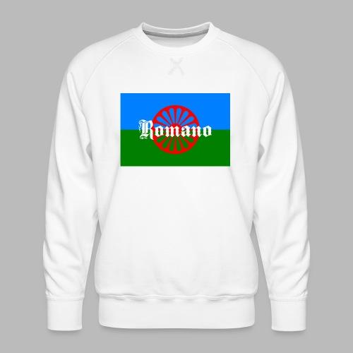 Flag of the Romanilenny people svg - Premiumtröja herr