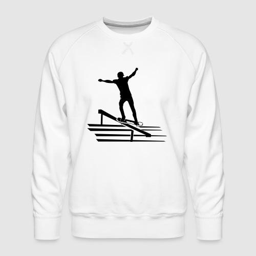 Skateboard - Männer Premium Pullover