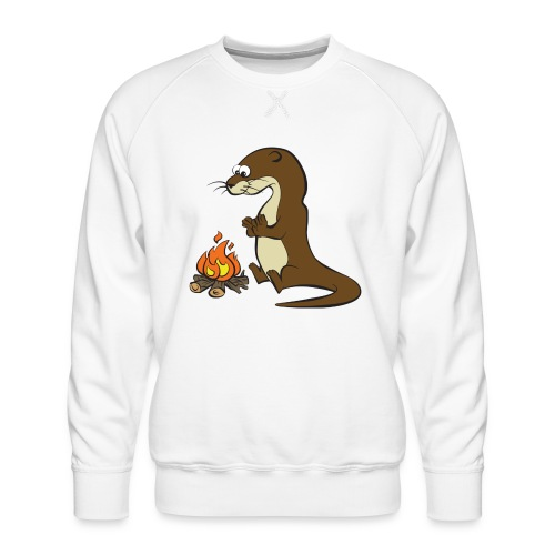 Song of the Paddle; Quentin campfire - Men's Premium Sweatshirt