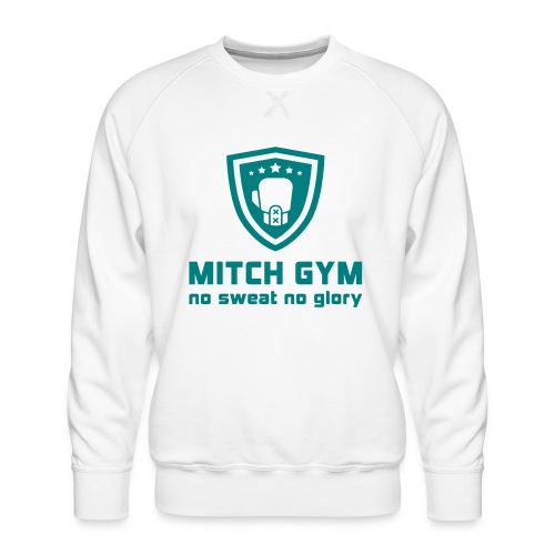 Logo_Mitch_Gym edit - Mannen premium sweater