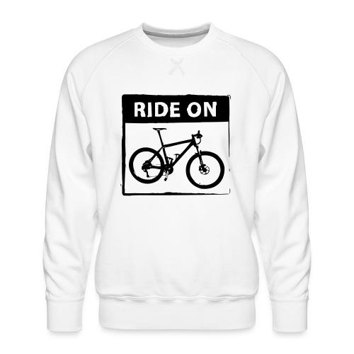 Ride On MTB 1 Color - Männer Premium Pullover
