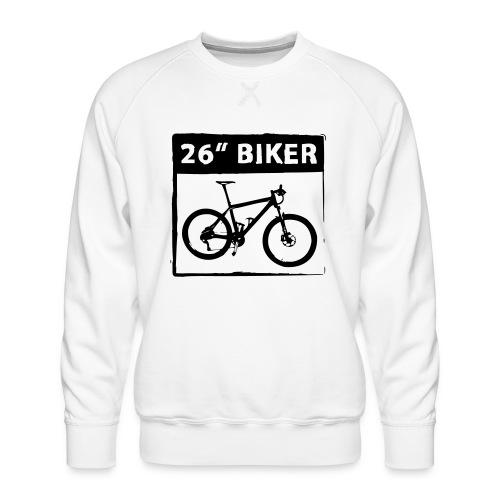 26 Biker - 1 Color - Männer Premium Pullover