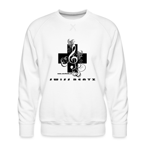 Swiss Beatz Logo with L - Männer Premium Pullover