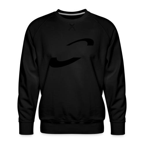 Planet Cycling Icon Black - Men's Premium Sweatshirt
