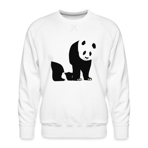 Panda - Miesten premium-collegepaita