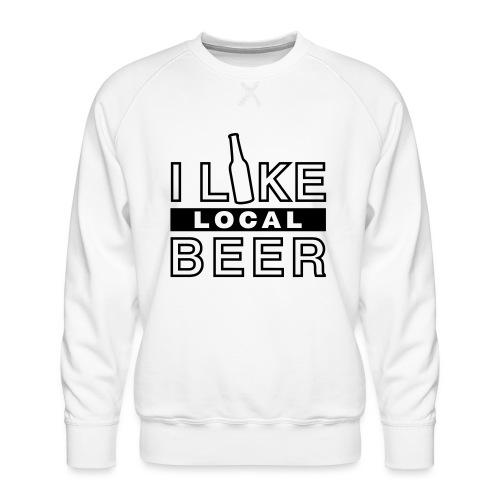 I Like Local Beer (swity) - Männer Premium Pullover