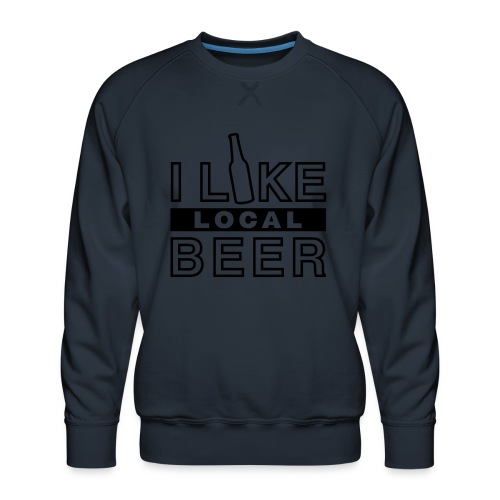I Like Local Beer (swity) - Männer Premium Pullover
