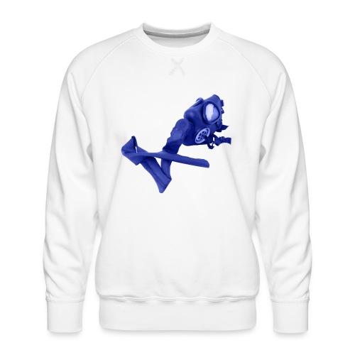 gas mask - Men's Premium Sweatshirt