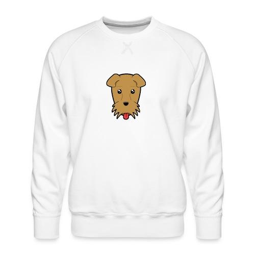 Shari the Airedale Terrier - Men's Premium Sweatshirt