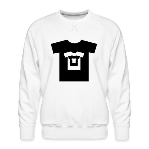 t-shirt récursif - Sweat ras-du-cou Premium Homme