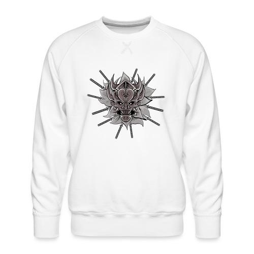 Lotus Of The Samurai - Mannen premium sweater