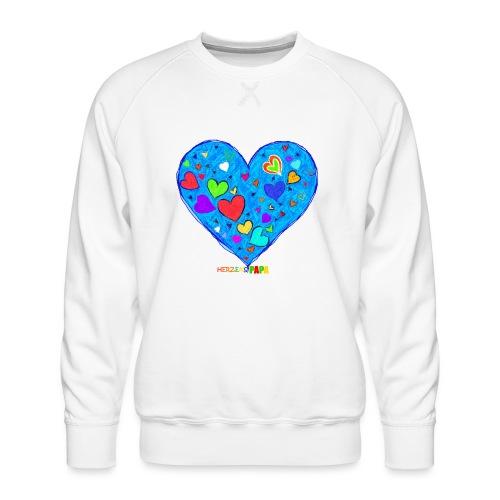 Herzenspapa - Männer Premium Pullover