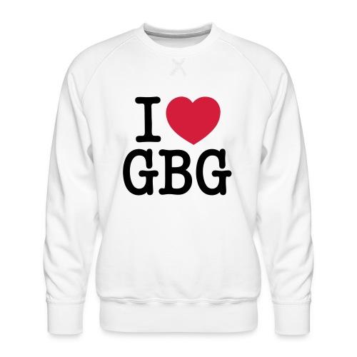 I love GBG - Premiumtröja herr