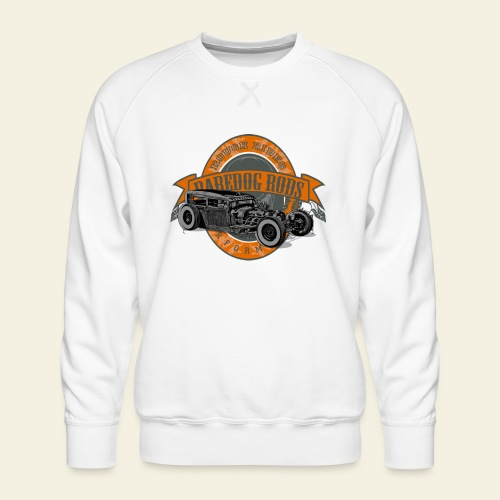 Raredog Rods Logo - Herre premium sweatshirt