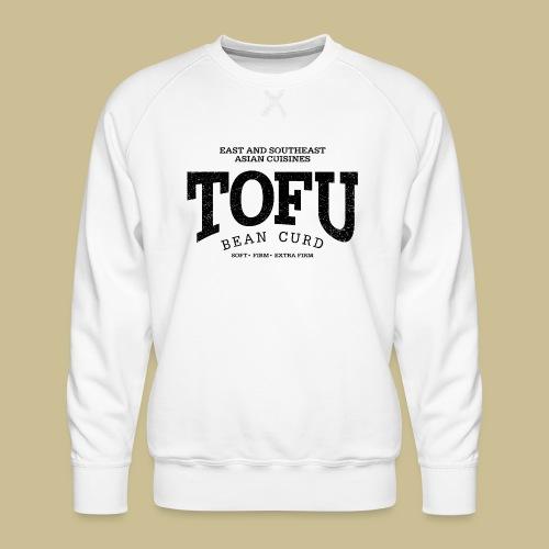 Tofu (black oldstyle) - Männer Premium Pullover