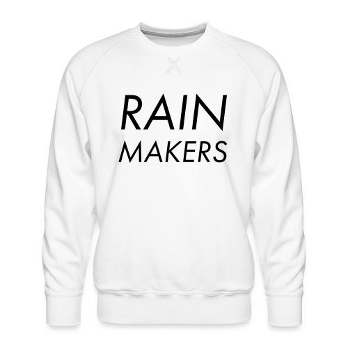 rainmakertext - Miesten premium-collegepaita