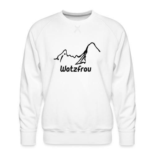 Watzfrau - Männer Premium Pullover