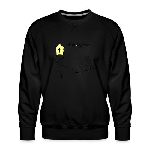juksepave png - Premium-genser for menn
