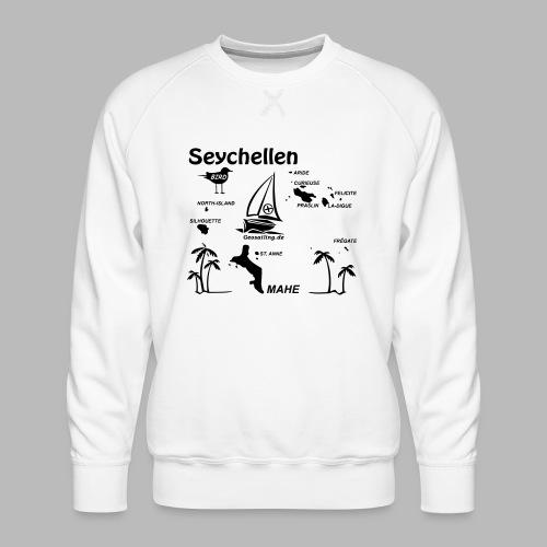Seychellen Insel Crewshirt Mahe etc. - Männer Premium Pullover