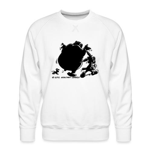 Asterix & Obelix avec Idefix ombre Tee shirt Femme - Sweat ras-du-cou Premium Homme