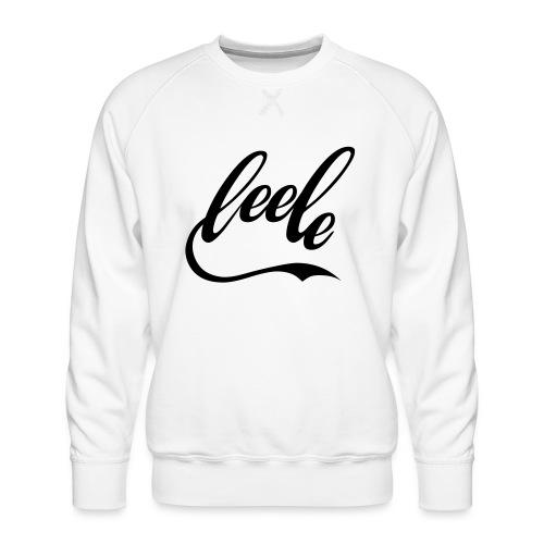 leele ILY Handsign - Männer Premium Pullover
