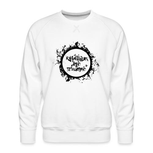 Rebellion der Träumer Logo schwarz - Männer Premium Pullover