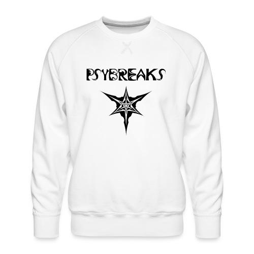 Psybreaks visuel 1 - text - black color - Sweat ras-du-cou Premium Homme