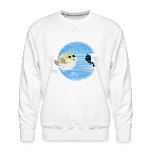 Puffer fish - T-shirts - Sweat ras-du-cou Premium Homme