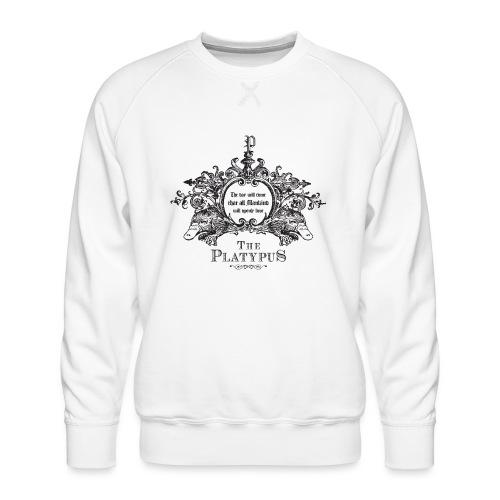 Platypus - Mannen premium sweater