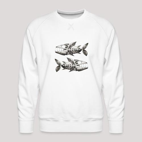 FishEtching - Men's Premium Sweatshirt