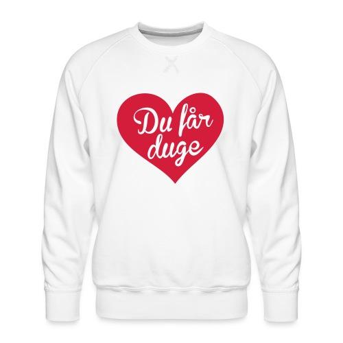 Ekte kjærlighet - Det norske plagg - Premium-genser for menn