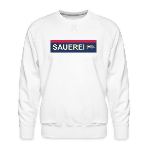 Sauerei Premium Bekleidung - Männer Premium Pullover