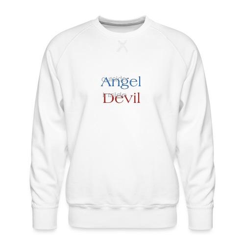 Angelo o Diavolo? - Felpa premium da uomo