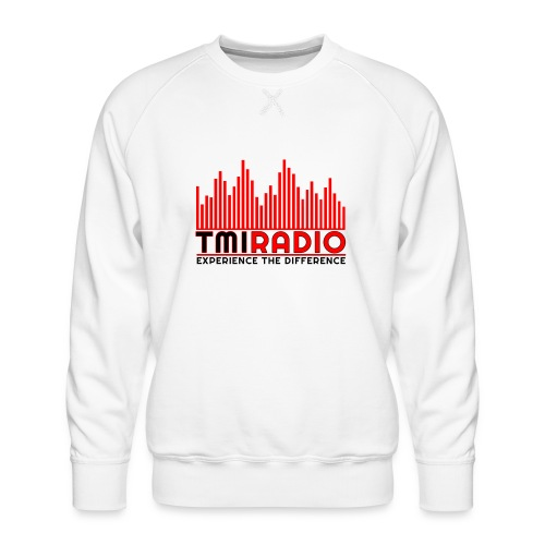 NEW TMI LOGO RED AND BLACK 2000 - Men's Premium Sweatshirt