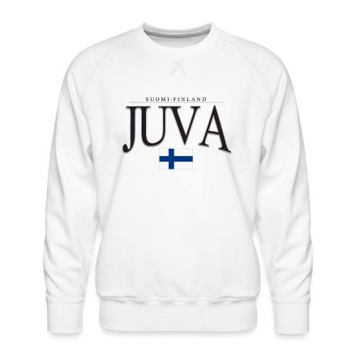 Suomipaita - Juva Suomi Finland - Miesten premium-collegepaita