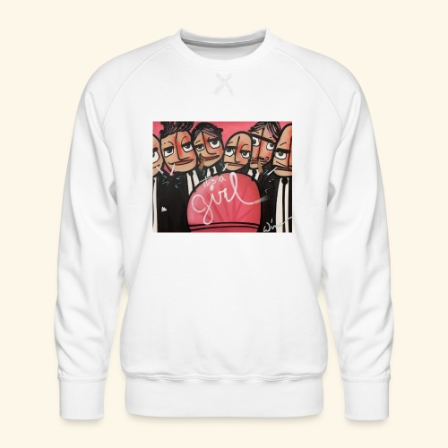 its a GIRL - Mannen premium sweater