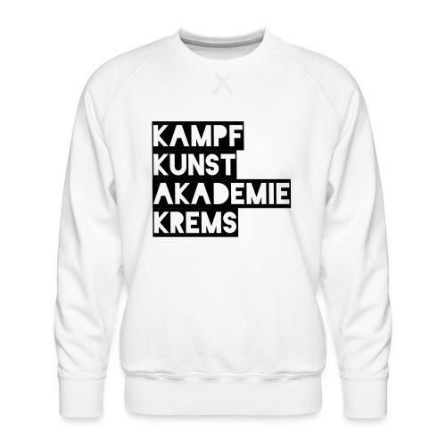 KKA 2016 lifestyle back2 - Männer Premium Pullover