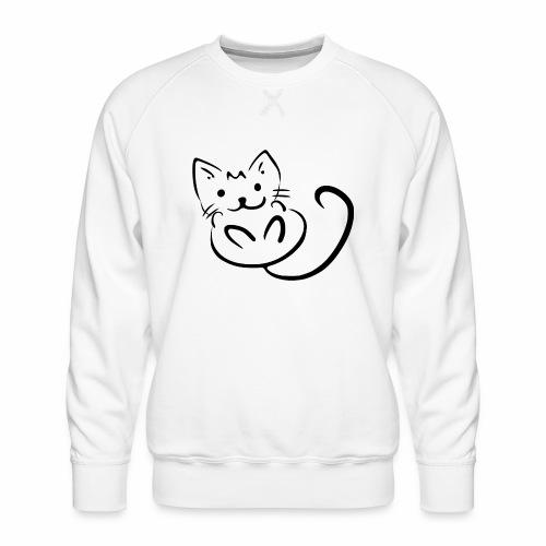 Kitten - Felpa premium da uomo