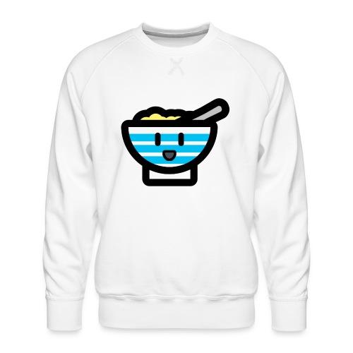 Cute Breakfast Bowl - Men's Premium Sweatshirt